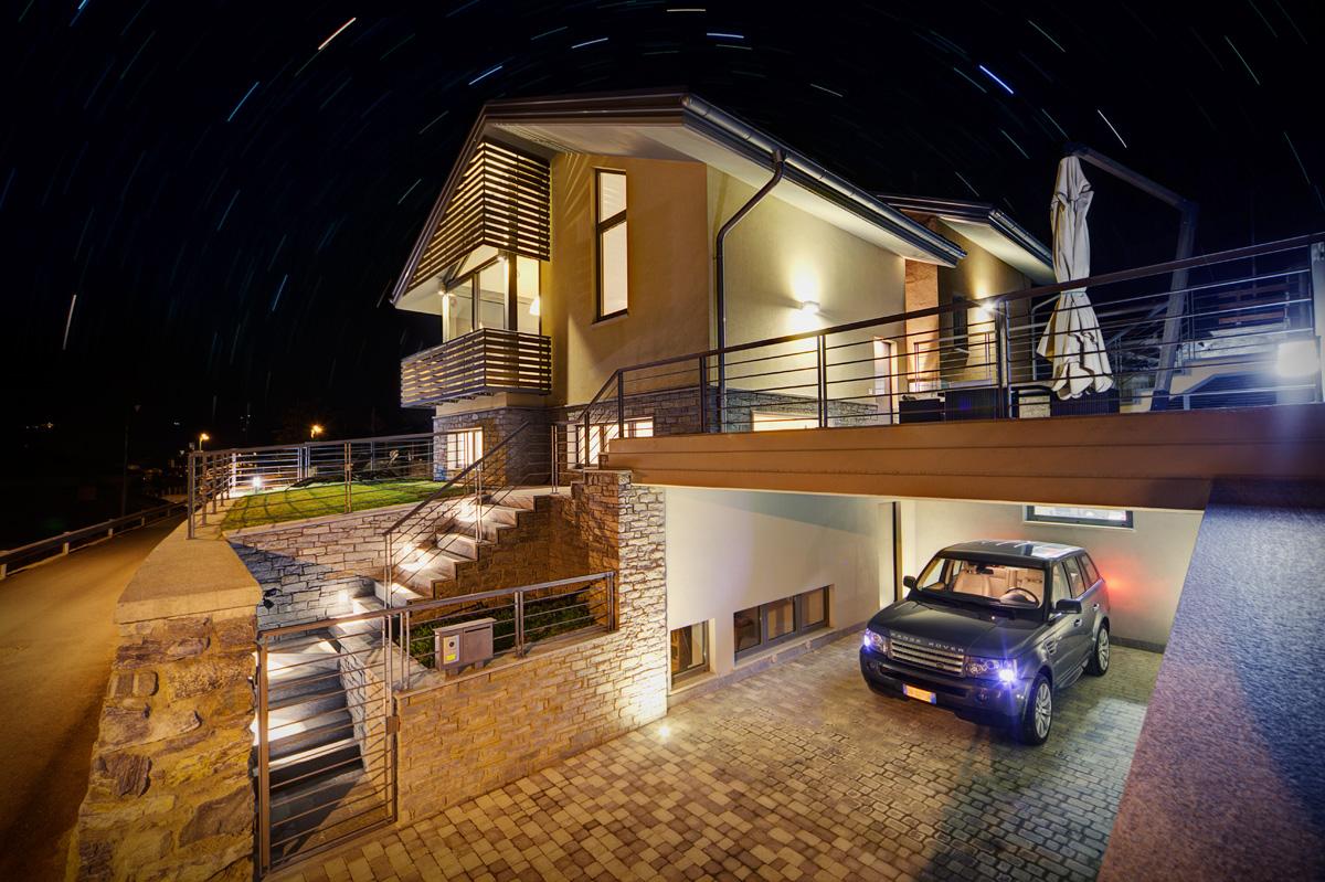 Illuminazione esterna villa illuminazione casa esterna le